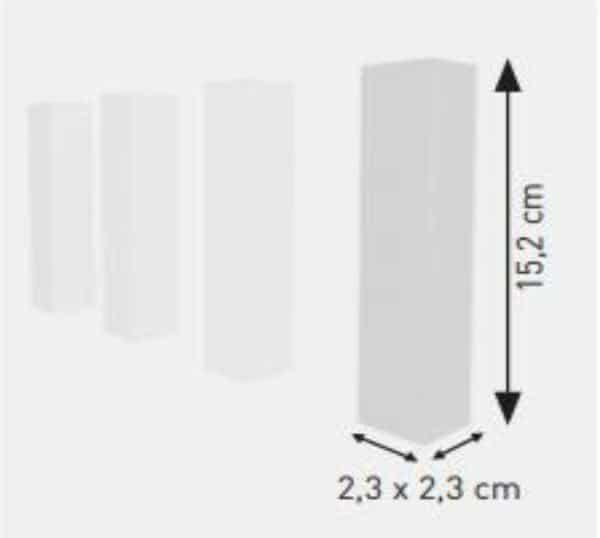 Universal Block element colt montaj plinta polimer