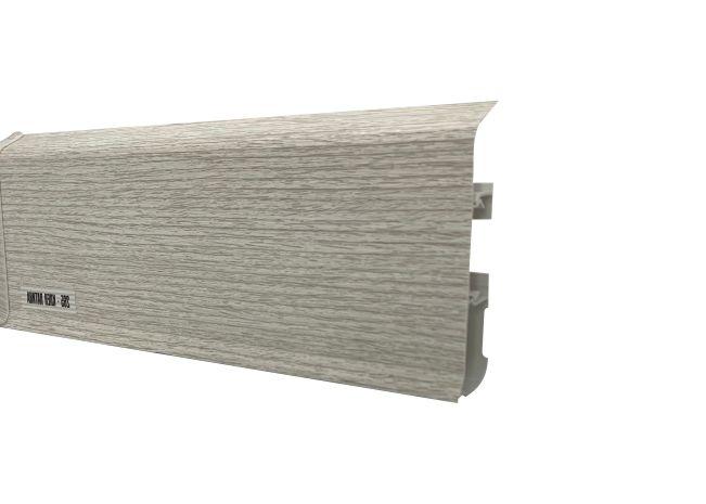 Plinta inalta 80 mm Artar Patina - Plinta canal cablu