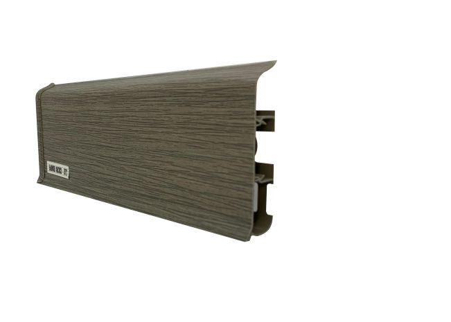 Plinta canal cablu decor pin olive, plinta pvc inalta.