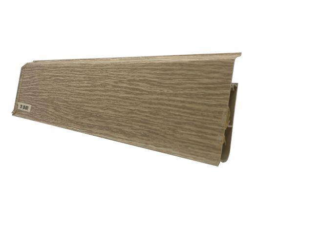 Plinta inalta 80 mm Stejar Latte - Plinta PVC